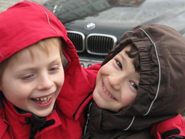 Rasmus og Sacha
