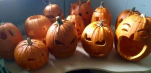 Carved Pumkins